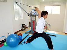 投球動作のトレーニング